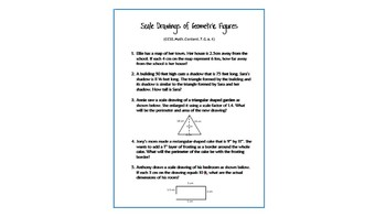 Common Core Word Problems Bundle - Grade 7