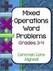 Word Problem Bundled Set: Grade 3-4