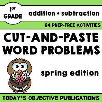 Spring Word Problems (May, Hands-On)