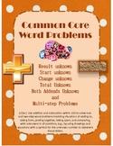 Common Core Word Problem Unit