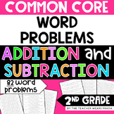 2nd Grade Common Core Word Problems: Addition and Subtraction