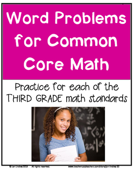 Common Core Word Problems for Math 3rd Grade