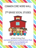 Common Core Word Wall: 2nd Grade Social Studies