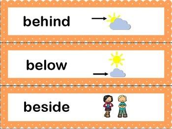 Math Common Core Word Wall Words- Kindergarten