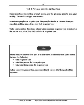 Common Core Workbook: Writing Skills Practice, Grade 4