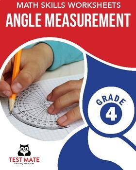 Common Core Worksheets: Angle Measurement, Grade 4