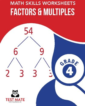 Common Core Worksheets: Factors & Multiples, Grade 4