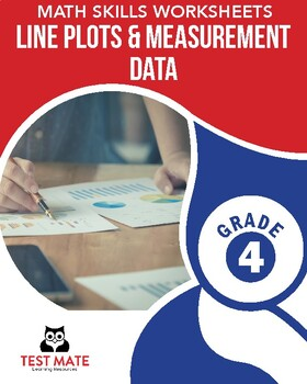 Common Core Worksheets: Line Plots and Measurement Data, Grade 4