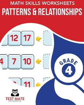Common Core Worksheets: Patterns & Relationships, Grade 4