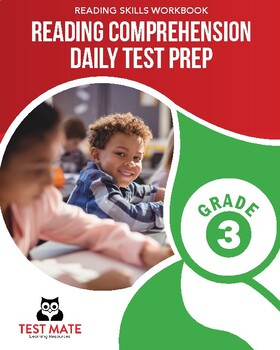 Common Core Worksheets: Reading Comprehension, Daily Test Prep, Grade 3