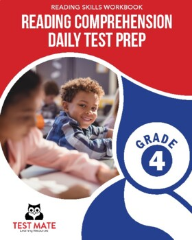 Common Core Worksheets: Reading Comprehension, Daily Test Prep, Grade 4