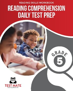 Common Core Worksheets: Reading Comprehension, Daily Test Prep, Grade 5