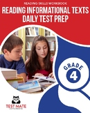 Common Core Worksheets: Reading Informational Texts, Daily Test Prep, Grade 4