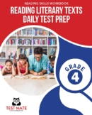 Common Core Worksheets: Reading Literary Texts, Daily Test Prep, Grade 4