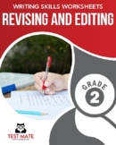 Revising & Editing, Grade 2 (Writing Skills Worksheets)