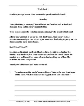 Common Core Worksheets: Revising & Editing, Grade 4