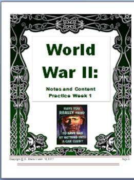 Common Core: World War II: Lesson 1-5