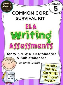 Common Core Writing 5th Grade