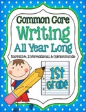 Common Core- Writing All Year Long {narrative, informational, opinion}