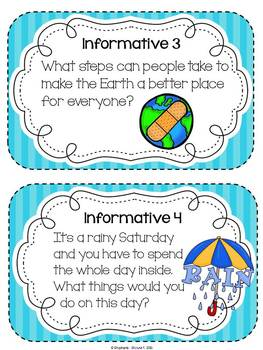 Common Core Writing - April Writing