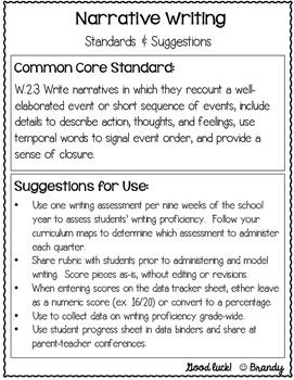 Second Grade Writing Assessment Kit