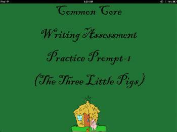 Common Core Writing Assessment Practice Prompt-1
