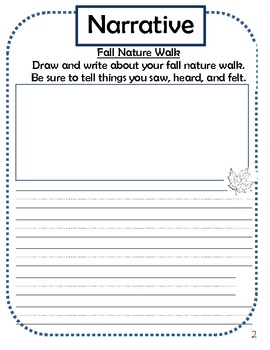 Common Core Writing Assessments - First Grade