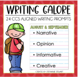 Common Core Writing- August September