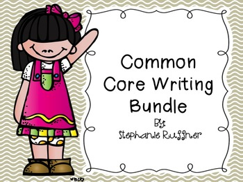 Common Core Writing Bundle