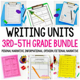 Writing Workshop Bundle - Yearlong Writing - Informational, Opinion, Narrative