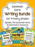 Common Core Writing Bundle #3 ~ Primary