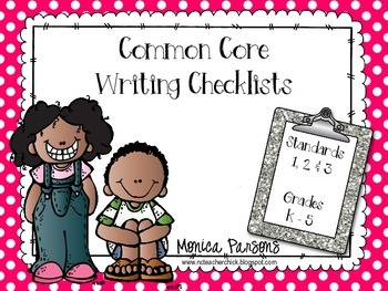Writing Checklist {Grades K-5}