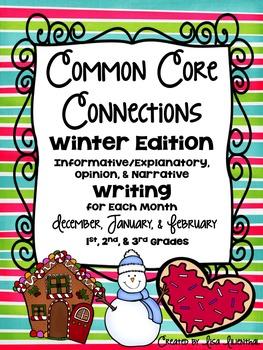 Common Core Writing ~ WINTER
