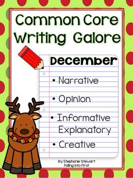 Common Core Writing- December