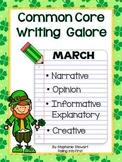 Common Core Writing Galore - March