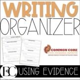 Common Core Writing Graphic Organizer
