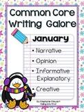 Common Core Writing- January