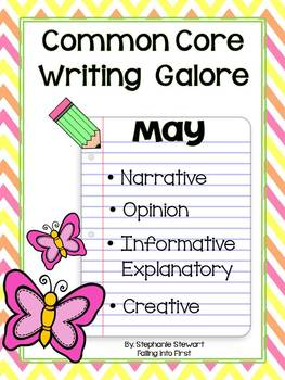 Common Core Writing- May Writing
