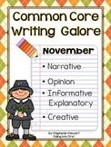 Common Core Writing- November