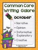 Common Core Writing- October