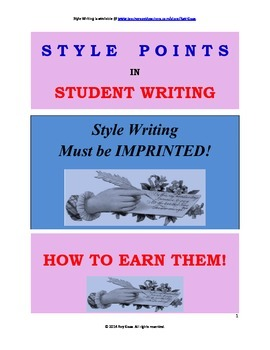 Common Core Writing: Paragraph Samples: Sophistication & Style