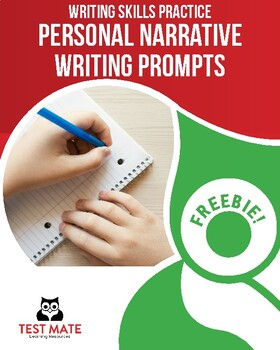 Common Core Writing: Personal Narrative Writing Prompts