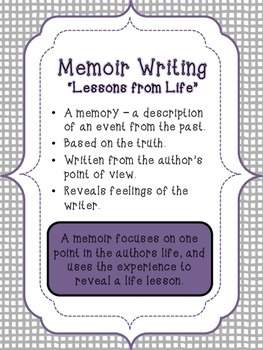 Common Core Writing Posters - Now with Memoirs!