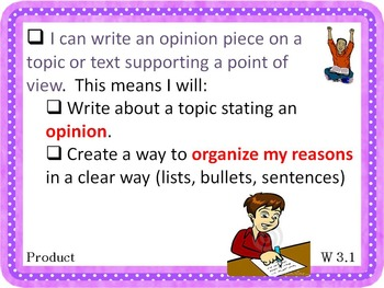 Common Core Writing Posters