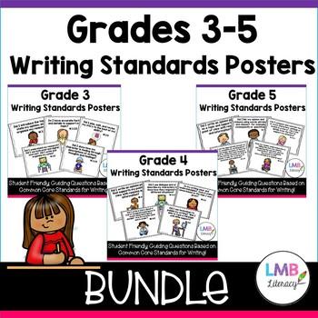 Common Core Writing Posters Bundle-Grades 3-5