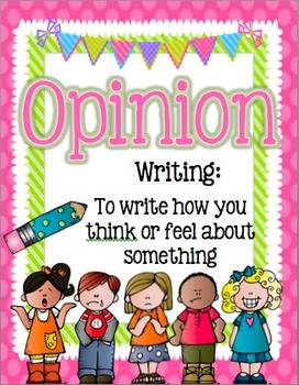 Common Core Writing Posters: Opinion, Narrative, Informative/Explanatory