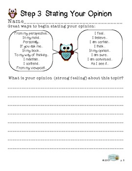 Common Core Writing Practice to Mastery! 3rd Grade Opinion Writing Edition