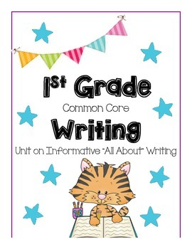 Common Core Writing {Research and Informative Writing Unit}
