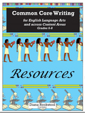 Common Core Writing Resources