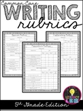 Common Core Writing Rubrics: 5th Grade